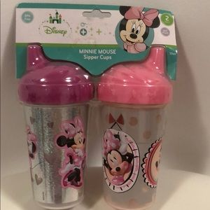Minnie Mouse Sipper Cups